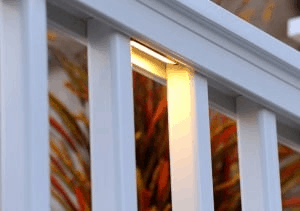 individual railing light
